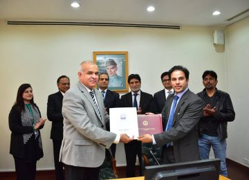 MoU signed with Bahria University