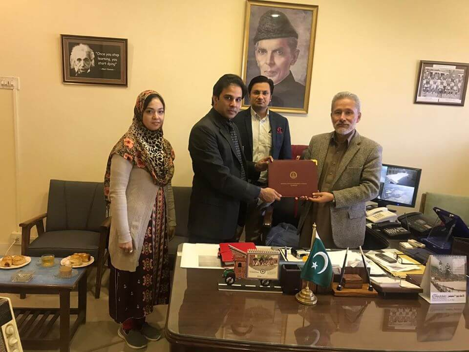 mou signed at quetta