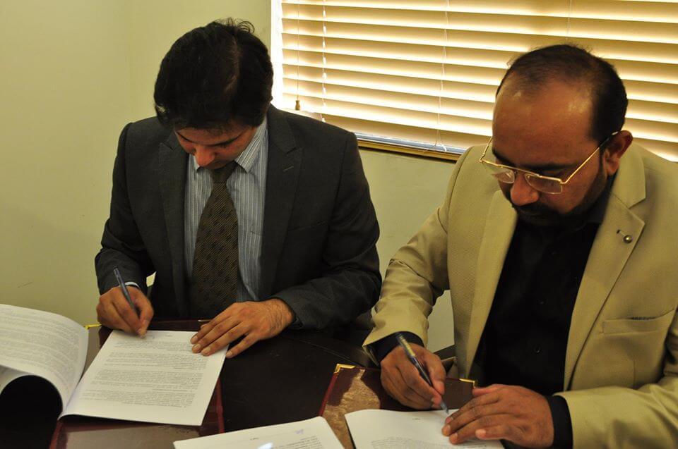 MoU signed with NGO World